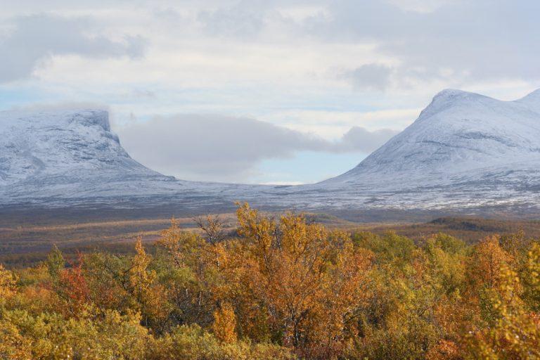 Europe, Europa, Sweden, Schweden, Lappland, Abisko National Park, Lapporten, Mountain, Berg, Valley, Tal, Snow, Schnee, Autumn, Herbst, Hans-Joachim Eggert