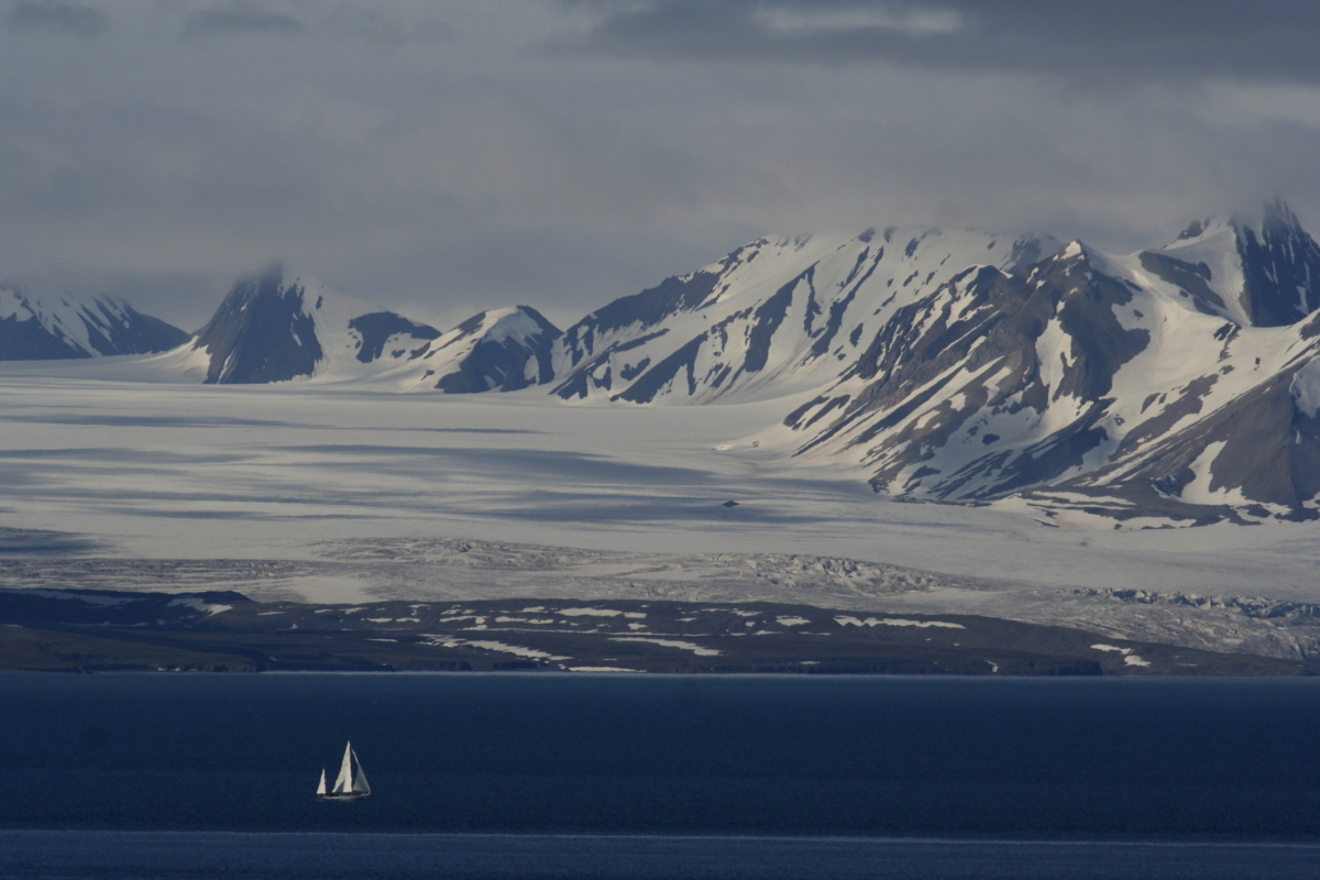 Arctic, Arktis, Svalbard, Spitzbergen, Boat, Sea, Ice, Eis, Snow, Schnee, Icefjord, Eisfjord, Hans-Joachim Eggert