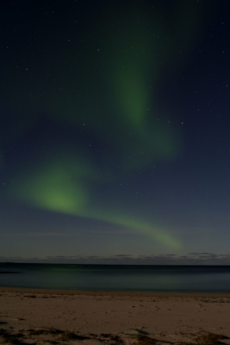 Europe, Europa, Norway, Norwegen, Vesterålen, Island, Insel, Northern Light, Polarlicht, Water, Wasser, Hans-Joachim Eggert