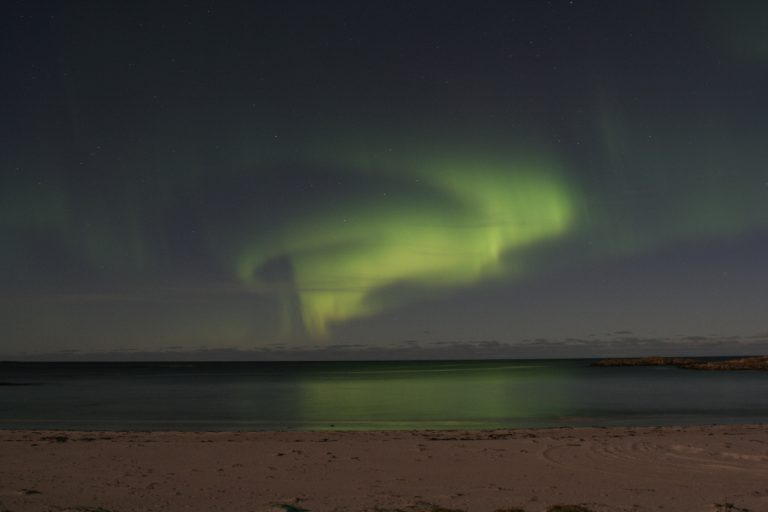 Europe, Europa, Norway, Norwegen, Vesterålen, Island, Insel, Northern Light, Polarlicht, Water, Wasser, Hans-Joachim Eggert