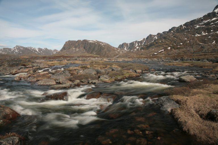 Arctic, Arktis, Greenland, Grönland, West Coast, Westküste, Sisimiut, Arctic Circle Trail, River, Fluss, Water, Wasser, Hans-Joachim Eggert