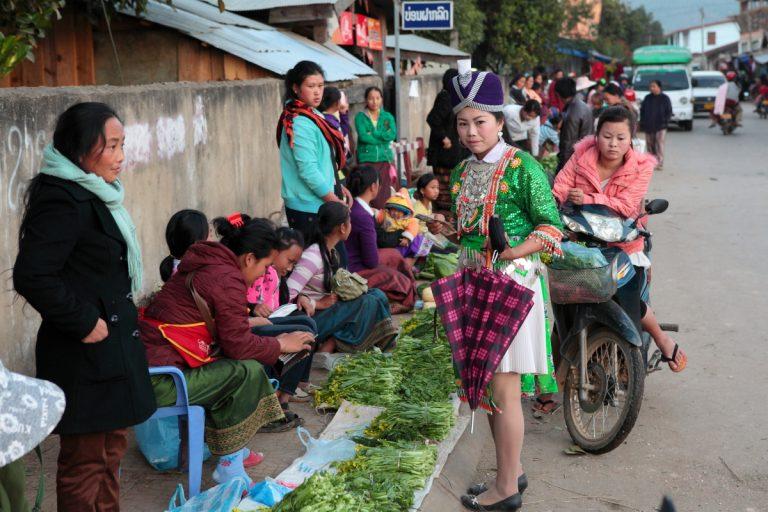 Asia, Asien, Laos, Phonsavan, People, Portrait, Women, Frau, Work, Arbeit, Hans-Joachim Eggert