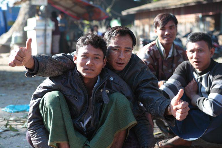 Asia, Asien, Myanmar, Burma, Kachin State, Myitkyina, People, Portrait, Men, Mann, Hans-Joachim Eggert
