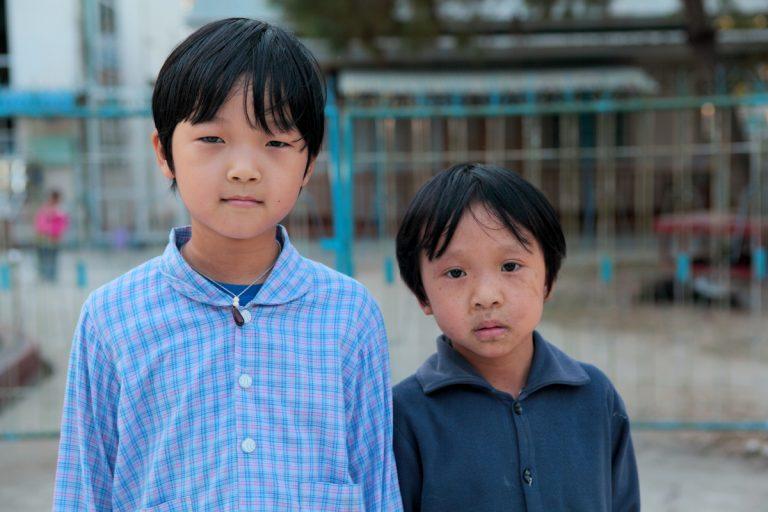 Asia, Asien, Myanmar, Burma, Kachin State, Myitkyina, People, Portrait, Children, Kinder, Hans-Joachim Eggert