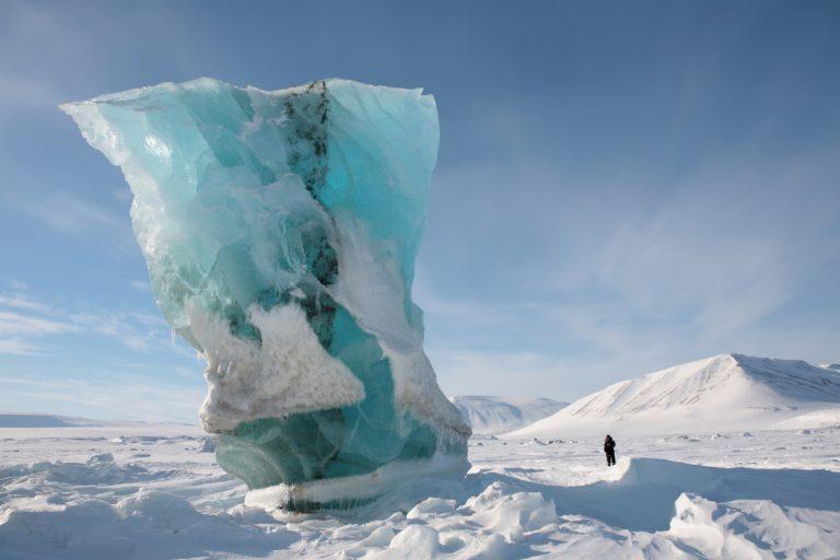 Arctic, Arktis, Svalbard, Spitzbergen, Iceberg, Eisberg, Ice, Eis, Snow, Schnee, East Coast, Ostküste, Storfjord, Sabine Land, Hans-Joachim Eggert