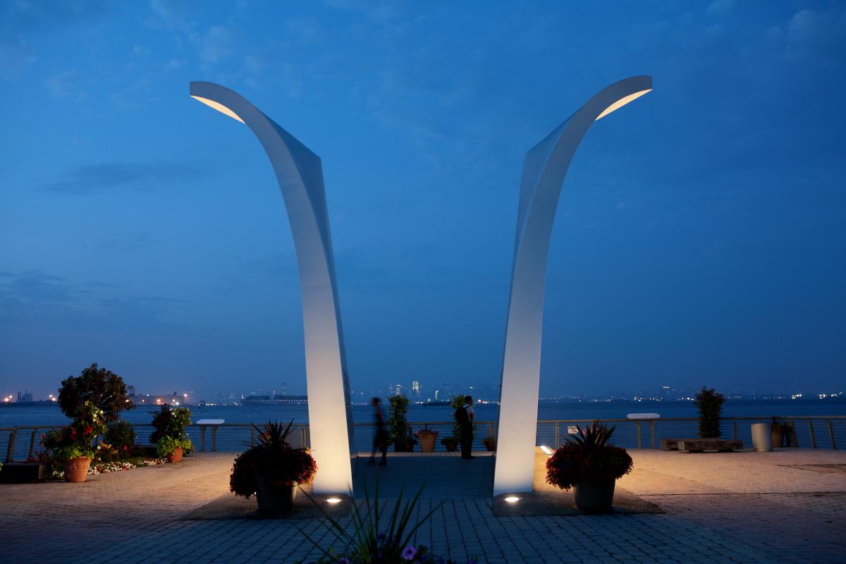 America, Amerika, USA, New York, Staten Island, Memorial, Denkmal, Hans-Joachim Eggert