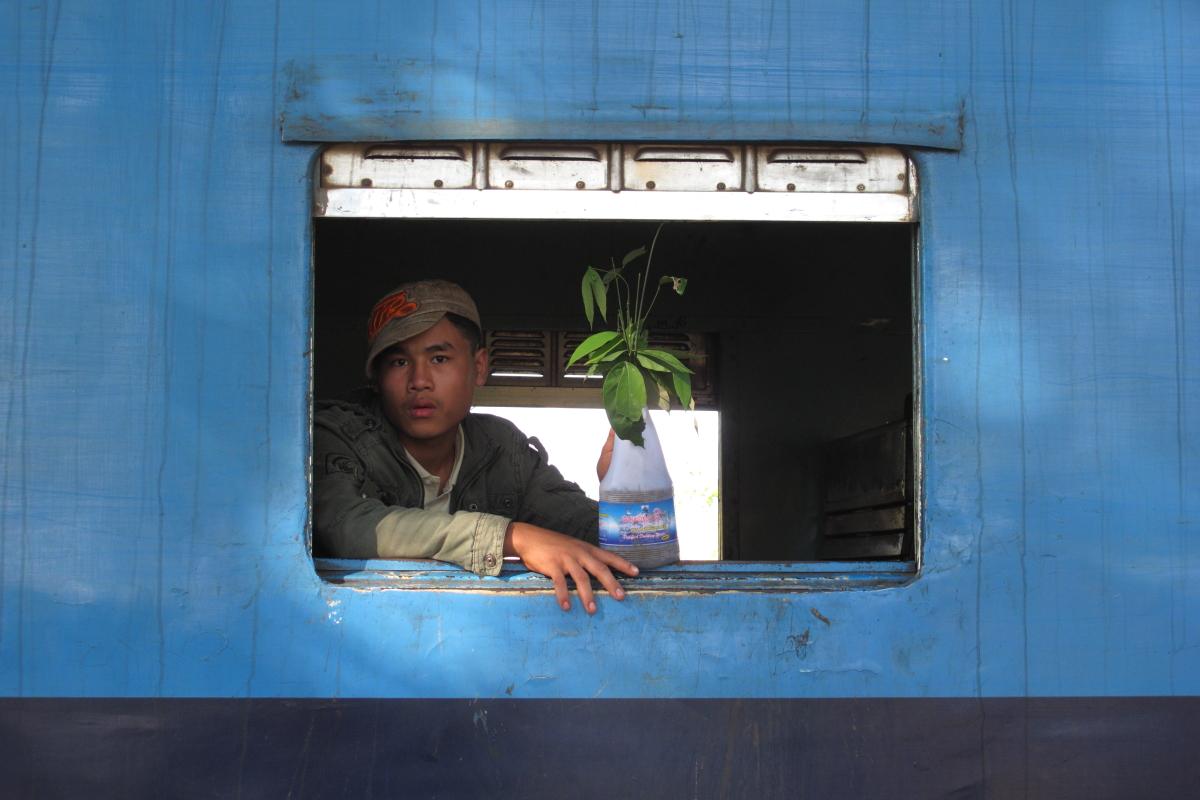 Asia, Asien, Myanmar, Burma, Kachin State, Mawhun, People, Portrait, Men, Mann, Hans-Joachim Eggert