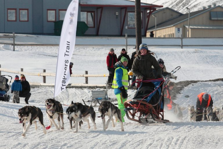 Trappers Trail  - The world's northernmost sled dog race, Arktis, Arctic, Svalbard, Spitzbergen, Longyearbyen, sled dog race, Schlittenhund, Hans-Joachim Eggert