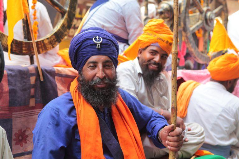 Asia, Asien, India, Indien, Punjab, Amritsar, People, Portrait, Men, Mann, Sikh, Religion, Hans-Joachim Eggert
