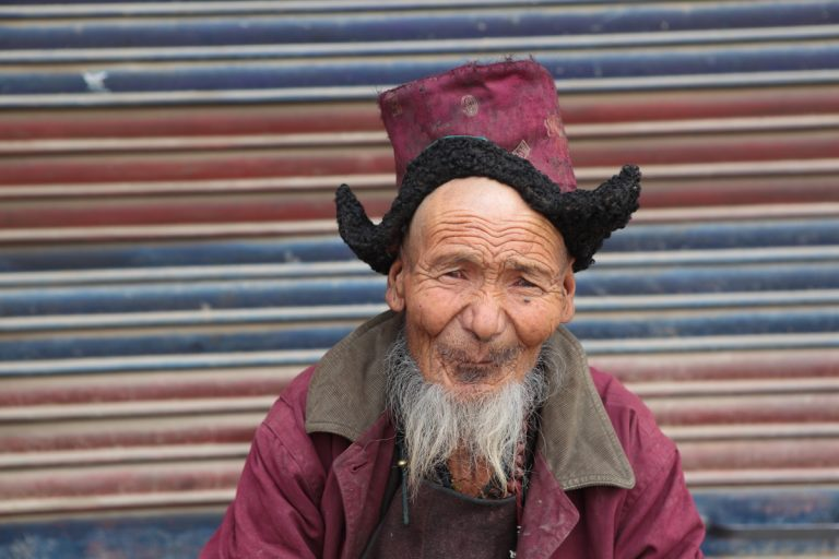 Asia, Asien, India, Indien, Jammu and Kashmir, Kaschmir, Ladakh, Leh, People, Portrait, Men, Mann, Hans-Joachim Eggert