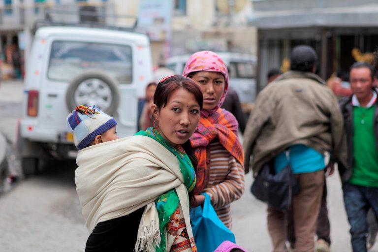 Asia, Asien, India, Himachal Pradesh, Kaza, Portrait, Women, Frau, Hans-Joachim Eggert