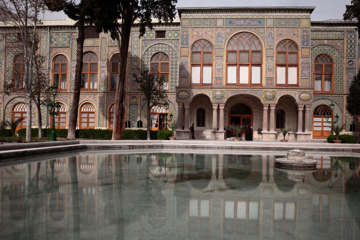 West Asia, Vorderasien, Asien, Iran, Teheran, Tehran, Golestan Palace, Palast, Hans-Joachim Eggert