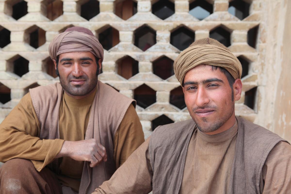West Asia, Vorderasien, Asien, Iran, Esfahan, Isfahan, People, Portrait, Men, Mann, Hans-Joachim Eggert