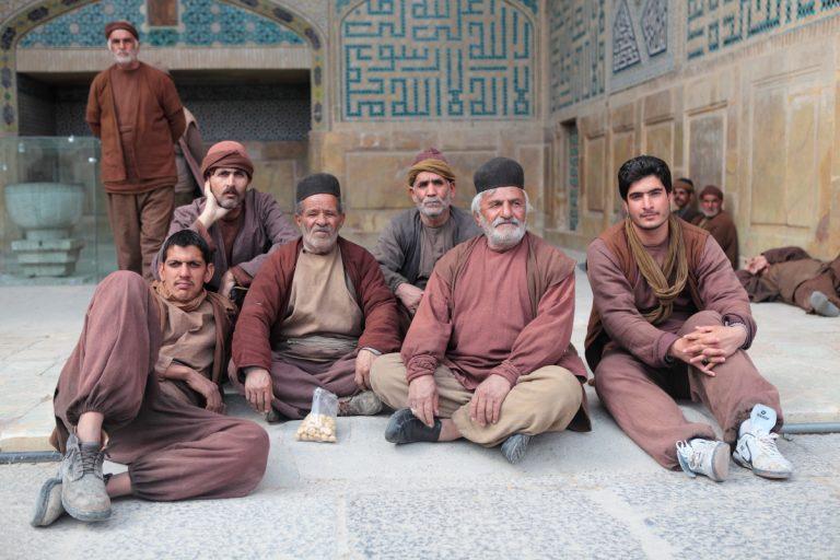 West Asia, Vorderasien, Asien, Iran, Esfahan, Isfahan, Jame Mosque, Freitagsmoschee, People, Portrait, Men, Mann, Hans-Joachim Eggert