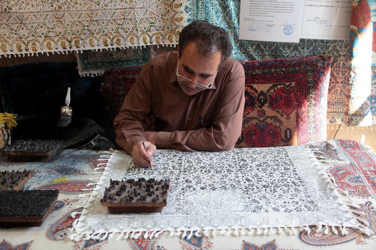West Asia, Vorderasien, Asien, Iran, Esfahan, Isfahan, Bazar, Basar, People, Portrait, Men, Mann, Hans-Joachim Eggert