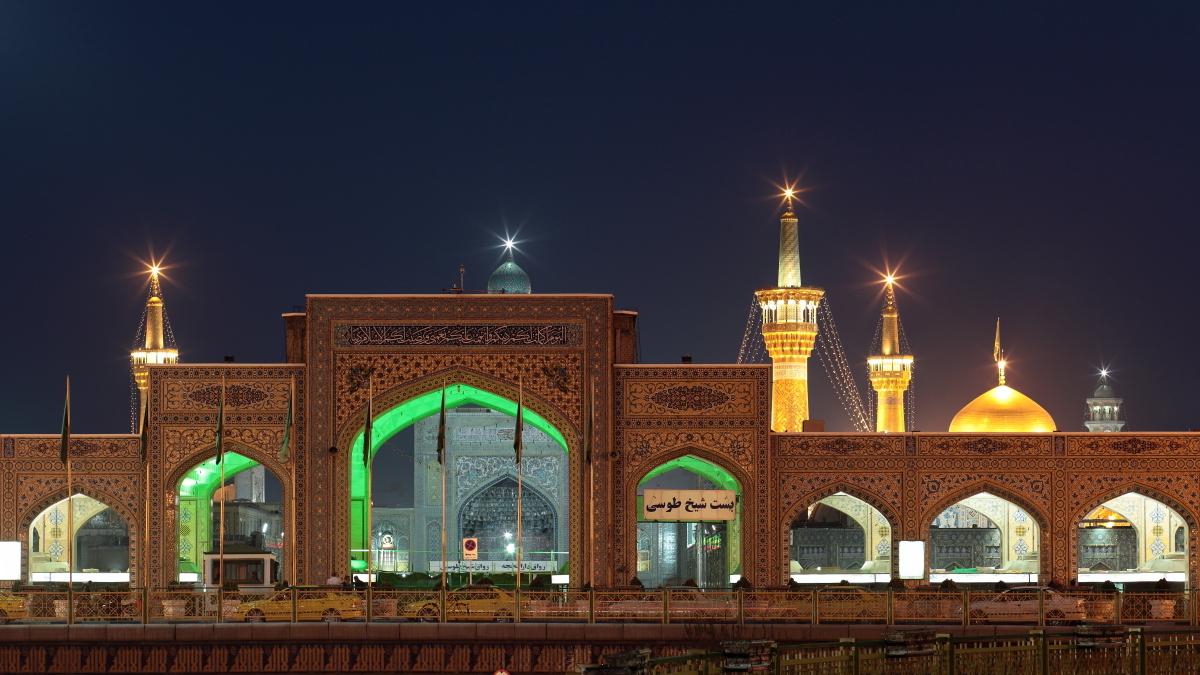 West Asia, Vorderasien, Asien, Iran, Mashhad, Imam-Reza-Heiligtum, Imam-Reza-Schrein, Holy Shrine, Hans-Joachim Eggert