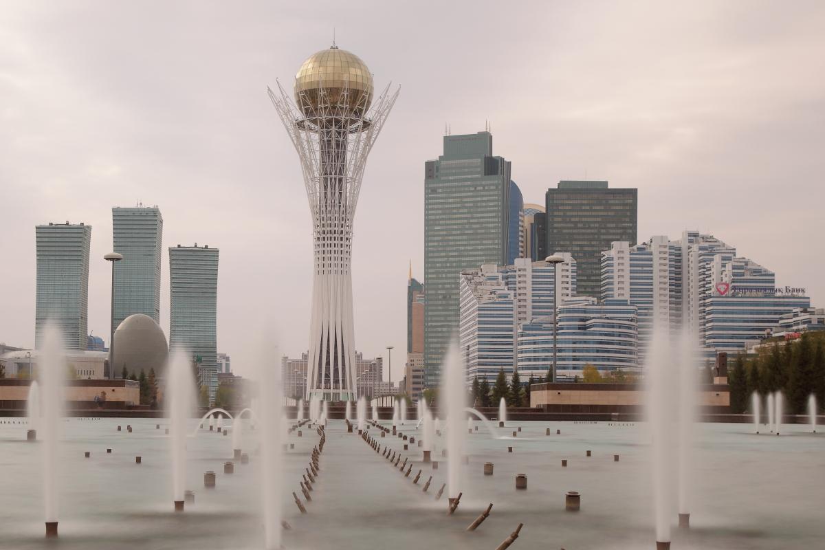 Asia, Asien, Kazakhstan, Kasachstan, Astana, Bajterek Tower, Turm, Hans-Joachim Eggert