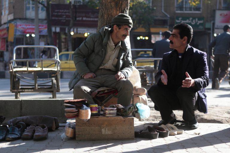 West Asia, Vorderasien, Asien, Iran, Hamadan, People, Portrait, Men, Mann, Shoemaker, Schuhmacher, Hans-Joachim Eggert