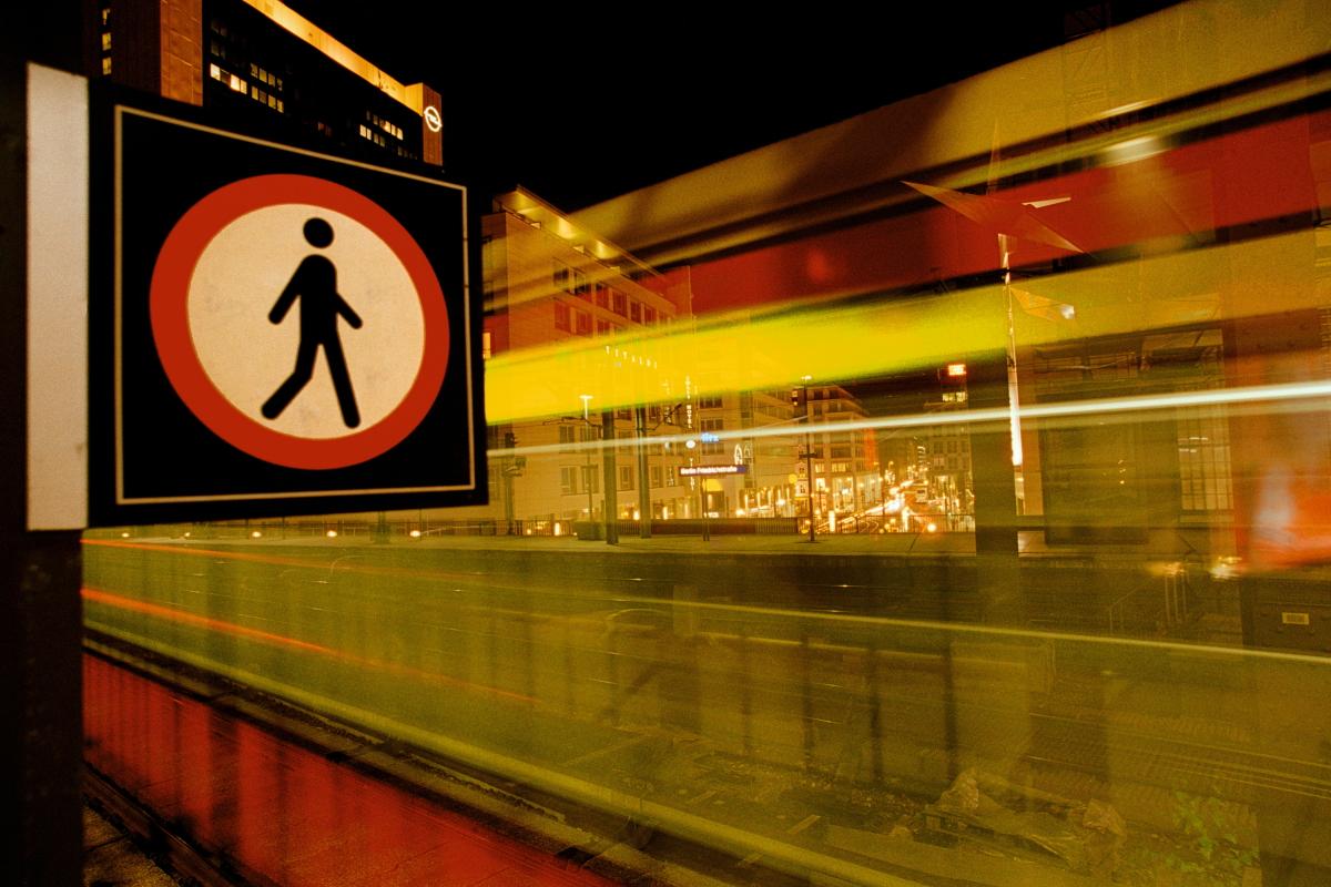 Europe, Europa, Germany, Deutschland, Berlin, Friedrichstraße, Train, Zug, Hans-Joachim Eggert