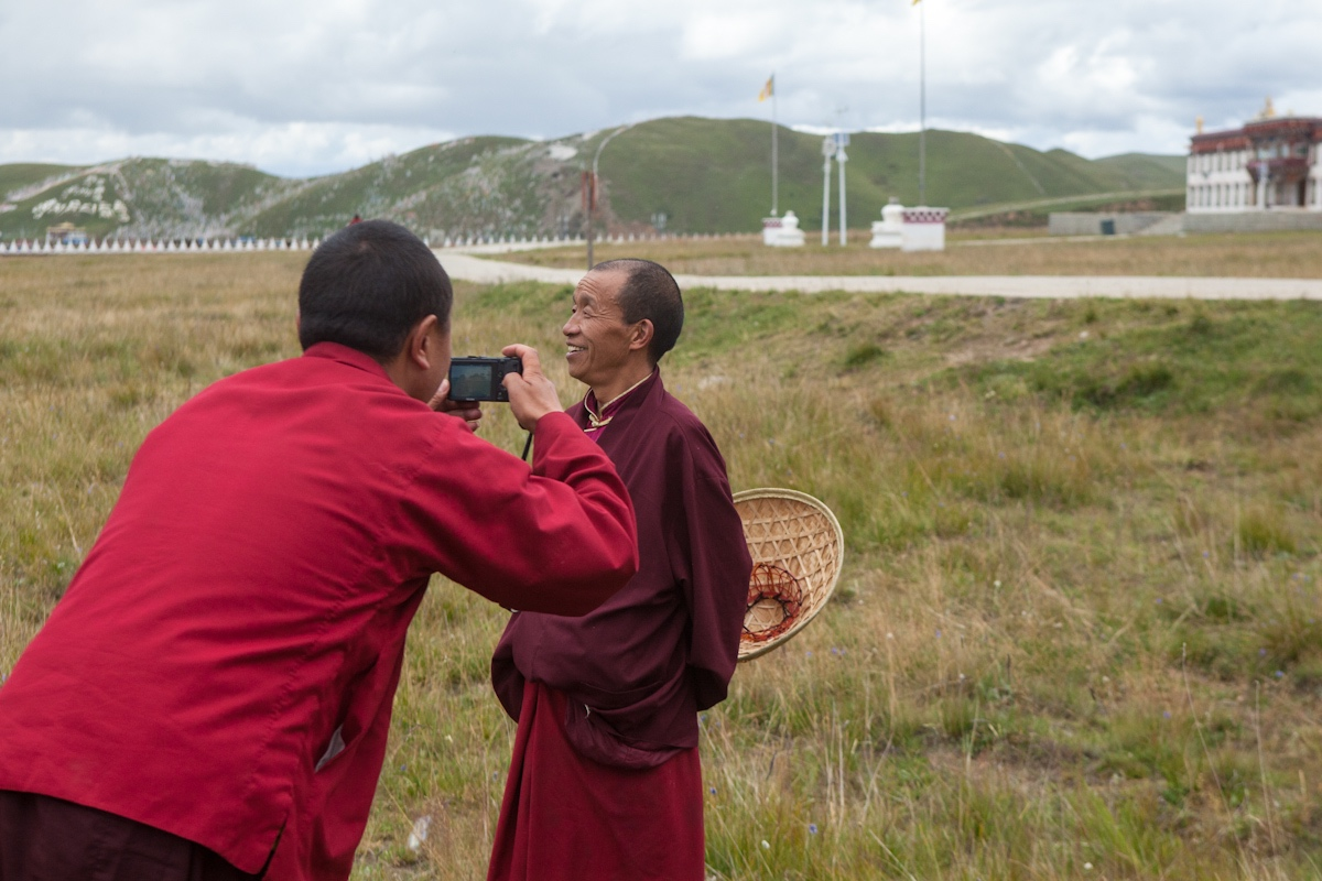 Fotoworkshop Bhuddistische Akademie Ani Gompa Tagong - Autonome Präfektur Garzê Tibet - Sichuan - China