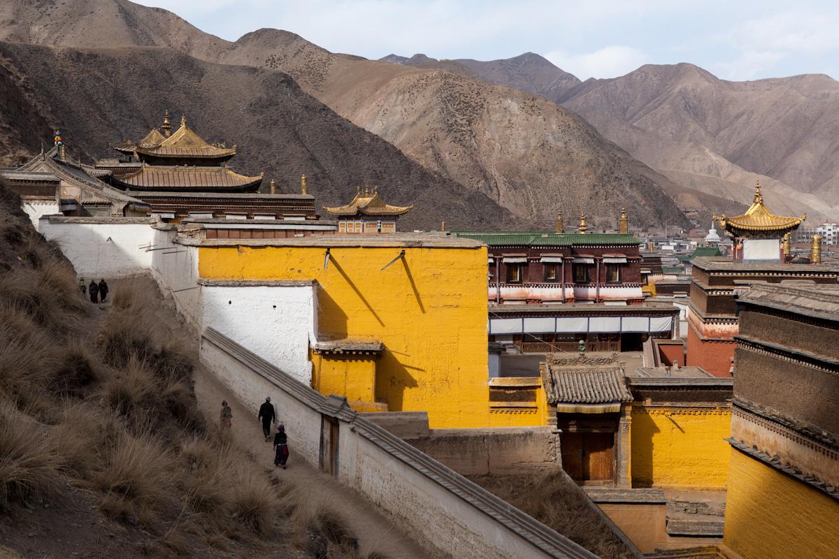 Kloster Labrang in Xiahe - Gansu - China