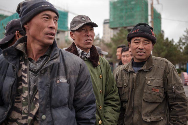 Arbeiter in Hulun Buir - Innere Mongolei - China
