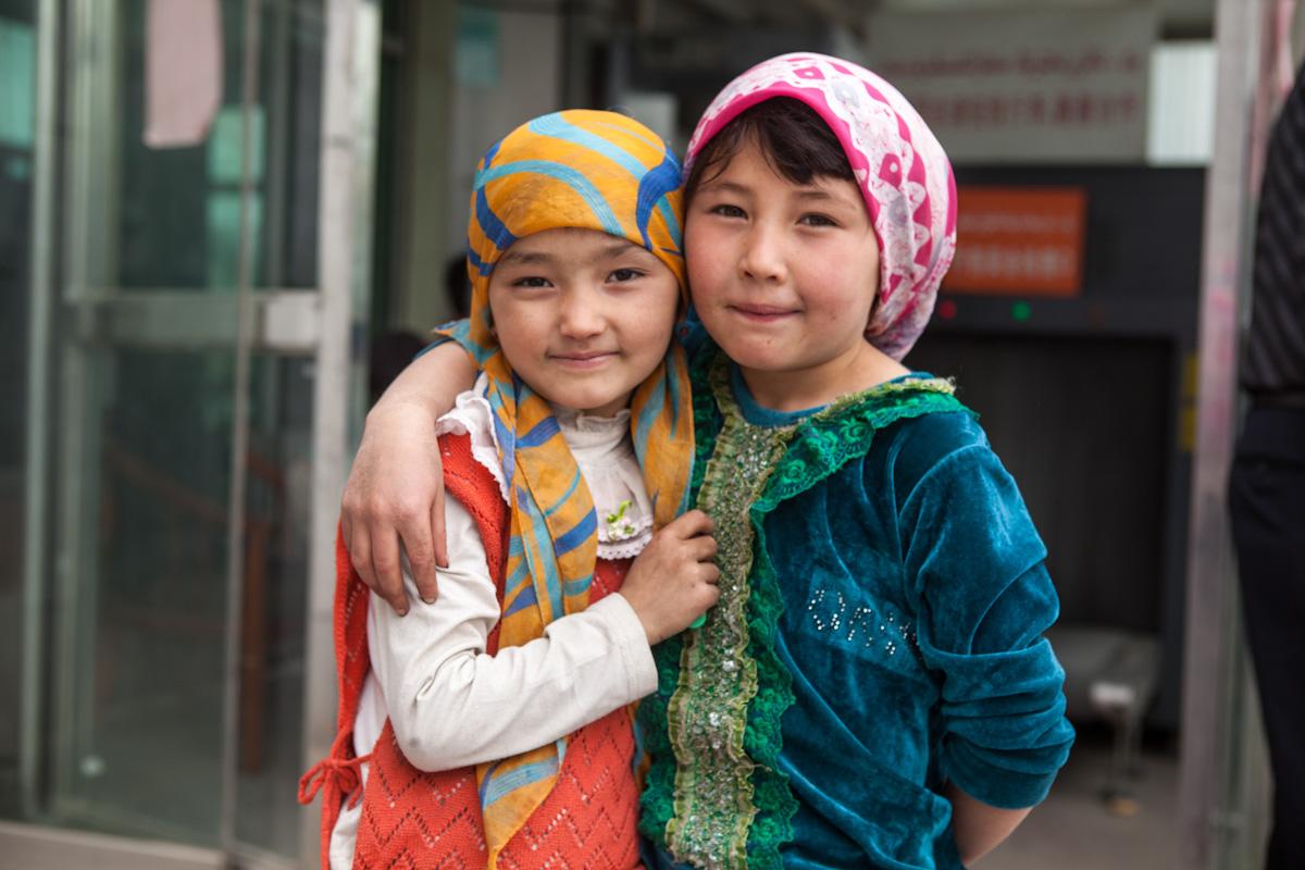 Asia, Asien, China, Xinjiang, Hotan, People, Portrait, Children, Kinder, Hans-Joachim Eggert