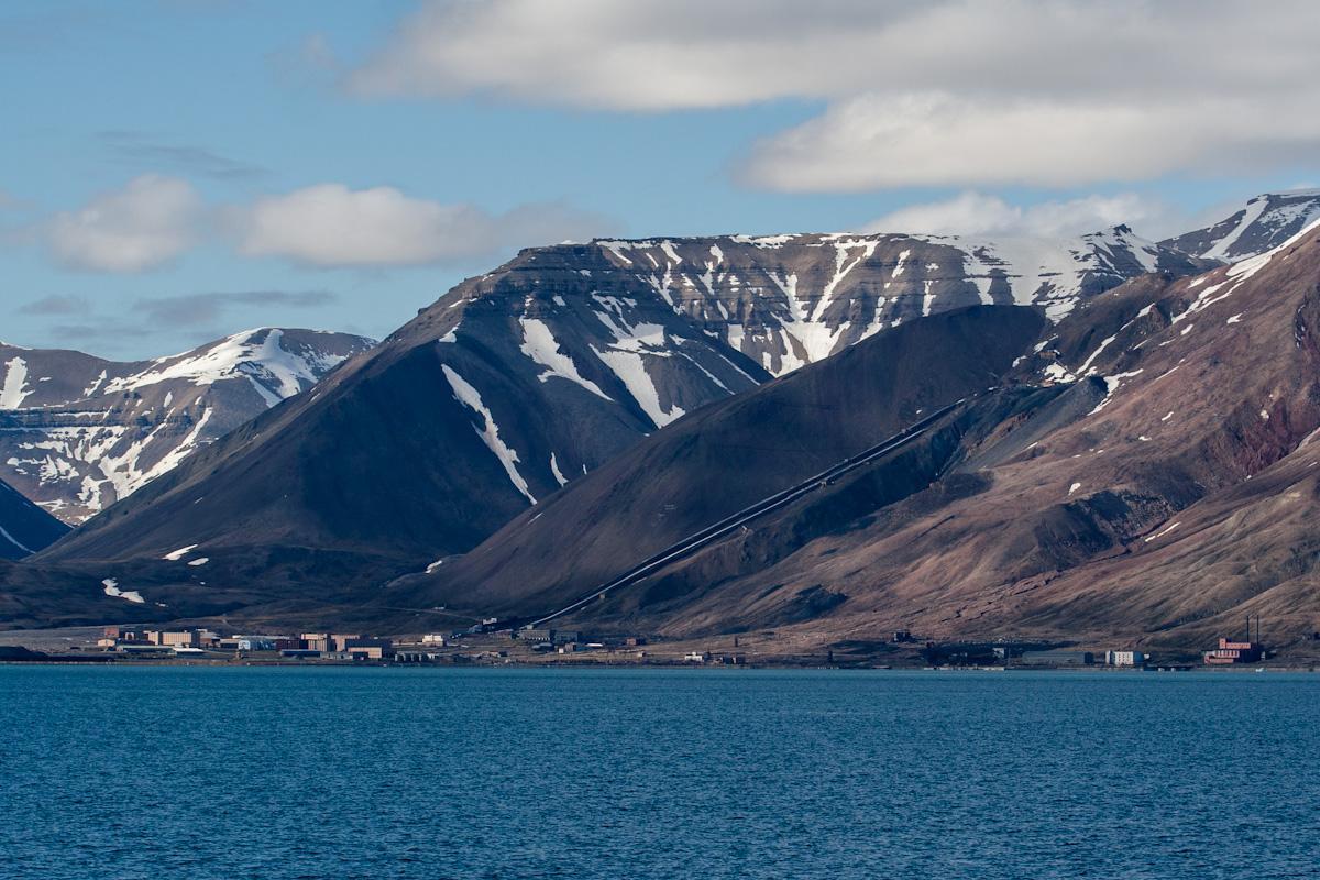 arktis arctic spitzbergen svalbard billefjord pyramiden verlassener ort lost places