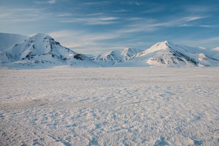 arktis arctic spitzbergen svalbard adventdalen adventtal winter schnee snow