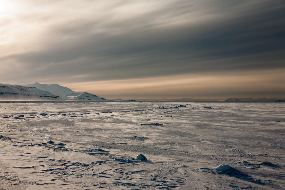 Arctic Arktis Svalbard Spitzbergen Sassenfjord Eis Snow Schnee