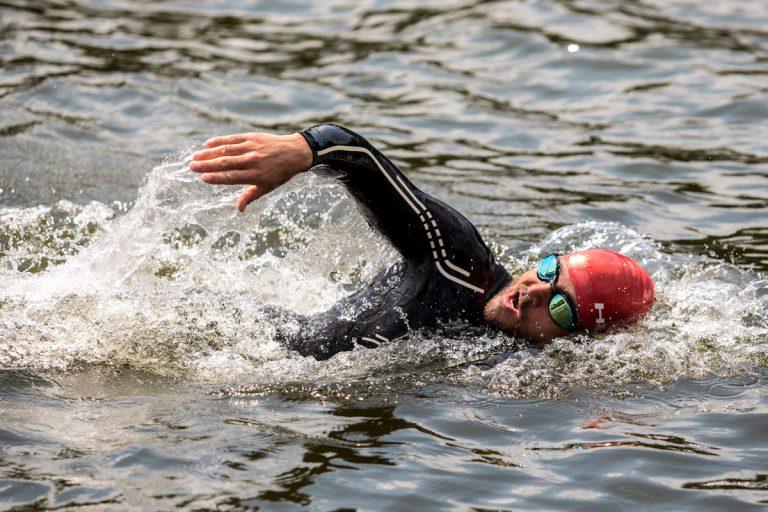 Germany Angermünde Wolletzsee Schorfheide Triathlon Crosstriathlon xterra schwimmen