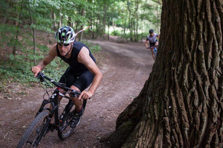Germany Angermünde Wolletzsee Schorfheide Triathlon Crosstriathlon xterra Radfahren
