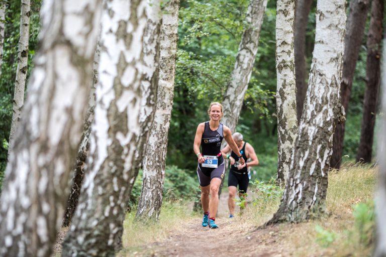 Germany Angermünde Wolletzsee Schorfheide Triathlon Crosstriathlon xterra laufen