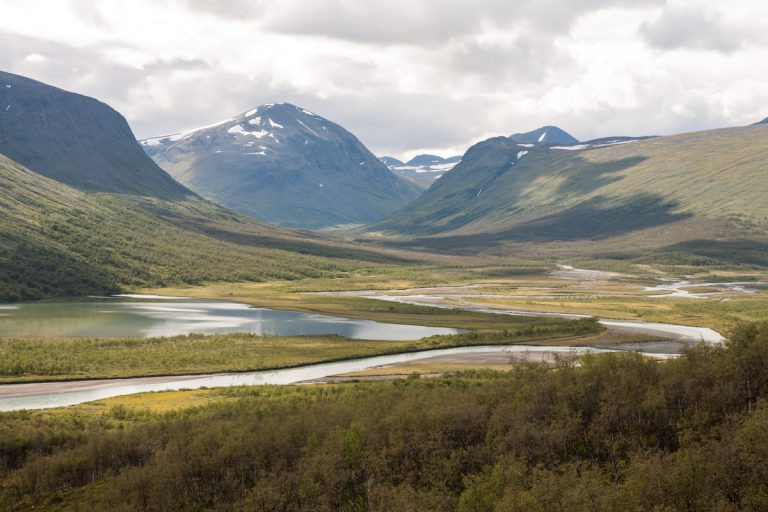 Skandinavien Scandinavia Schweden Sweden Sarek Nationalpark Wanderung vom Rapadalen zum Rapaselet