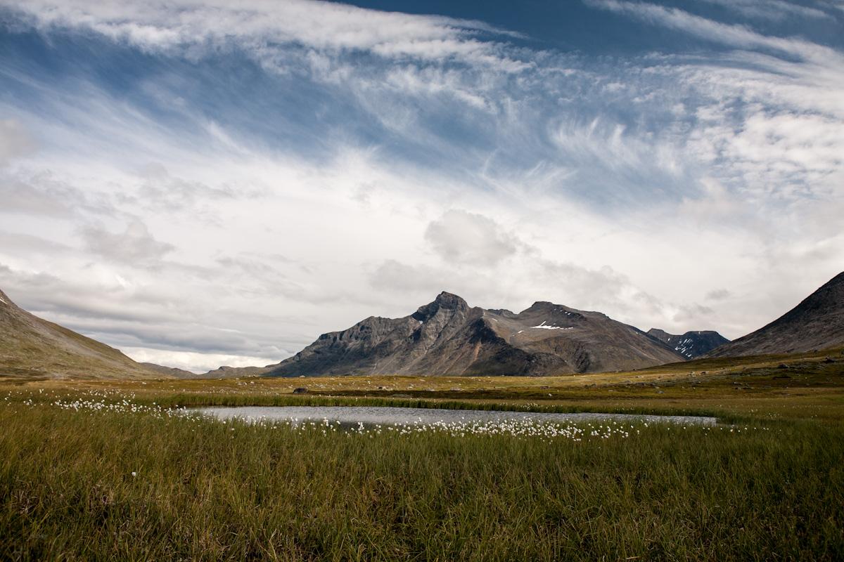 Skandinavien Scandinavia Schweden Sweden Sarek Nationalpark Wanderung Am Fluss Fluß Rahpajåhkå